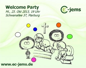 welcome-party-23.10.2013 ec-jems